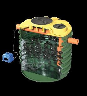 Sekundarni tretman filteri za odlaganje na zemlju